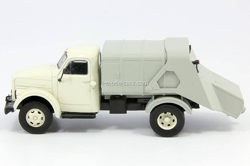 GAZ-51A 93M Garbage Disposal USSR 1:43 DeAgostini Service Vehicle #54