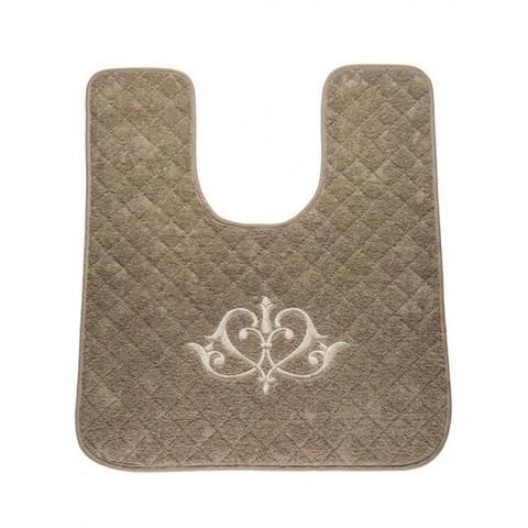 Элитный коврик для унитаза Ванити песочный от Old Florence