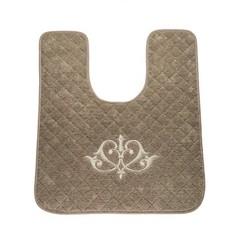 Элитный коврик для унитаза Ванити коричневый от Old Florence