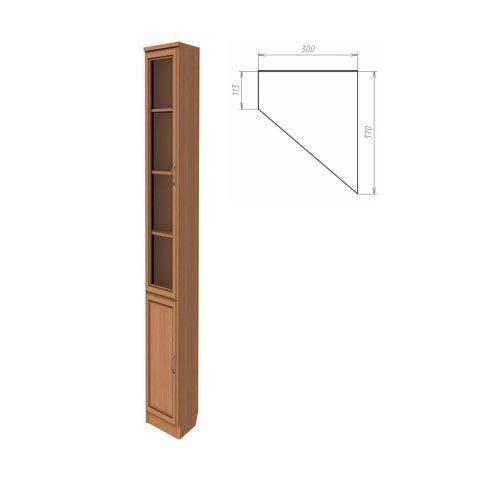 Шкаф для книг, консоль правая (Гарун-209)
