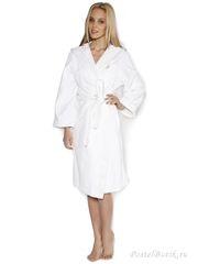 Элитный халат махровый Crociera белый от Blumarine