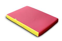 Мат гимнастический Красно-Желтый