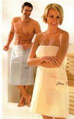 Халат-юбка для сауны Cawo Sauna 9065 серый