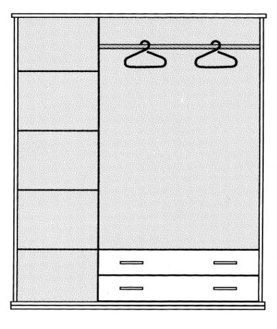 """Шкаф-гардероб """"Милорд"""""""