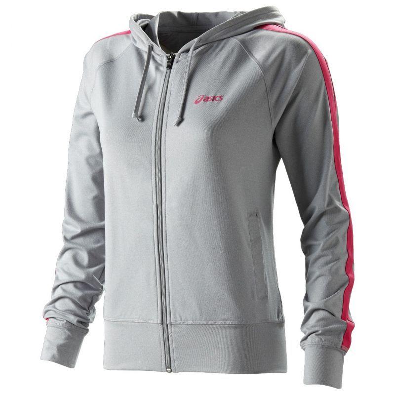 Женская толстовка Asics Jersey Warm Up Jacket Grey (110593 0714)
