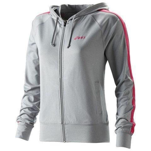 Толстовка Asics Jersey Warm Up Jacket женская Grey