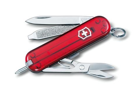 Нож брелок Signature Ruby Victorinox (0.6225.T)