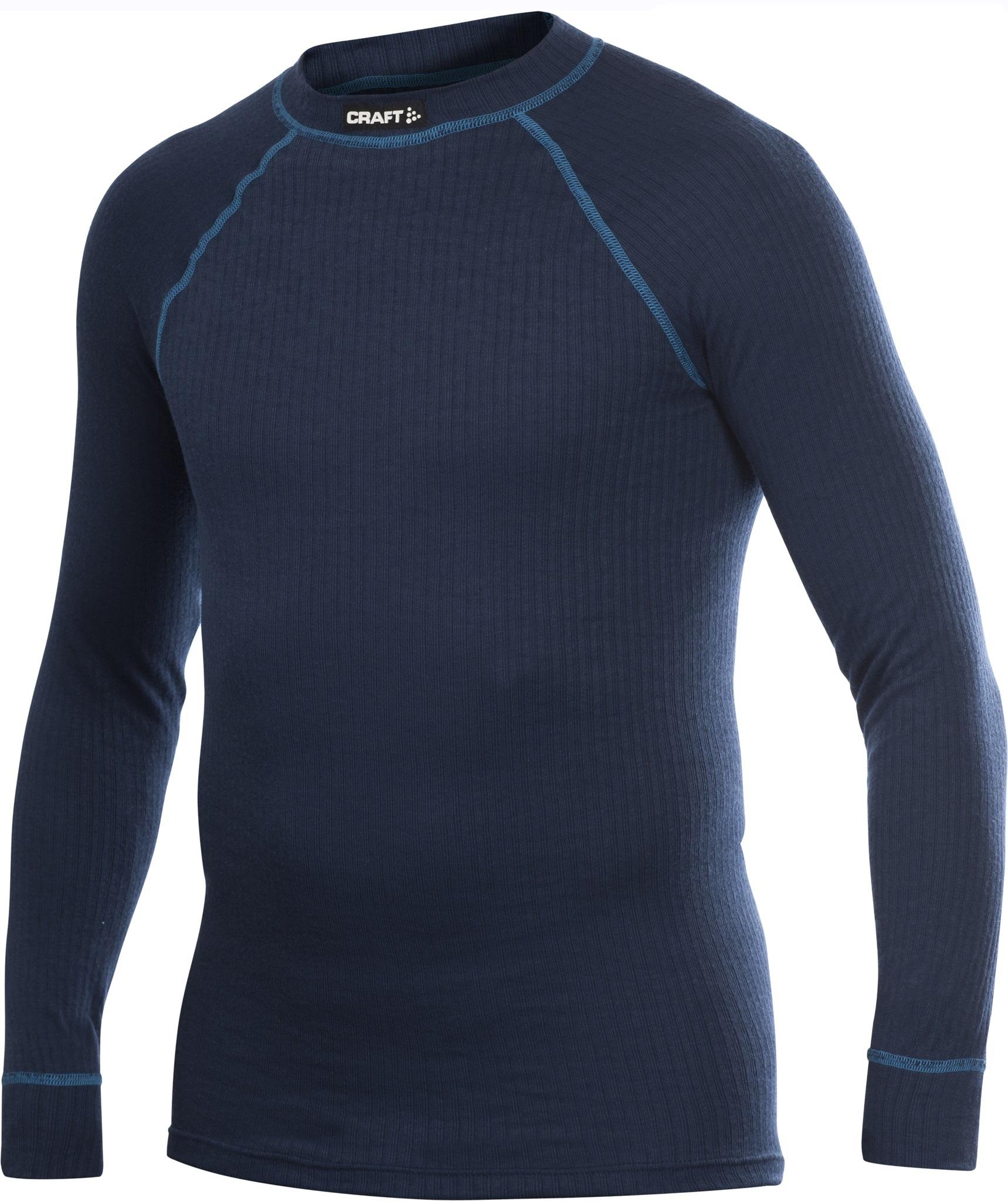 Термобелье Рубашка Craft Active мужская темно-синий