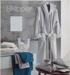 Элитный халат махровый Skipper белый от Svad Dondi
