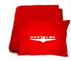 Плед в чехле с логотипом Chrysler