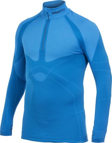 Термобелье Рубашка Craft Warm Zip Blue мужская