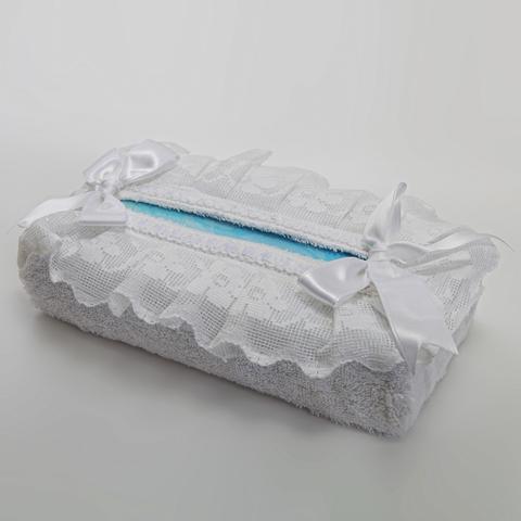 Салфетница для бумажных полотенец Buratto белая от Old Florence