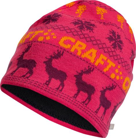 Шапка Craft Inge яр.розовый