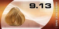 9.13 Очень светлый пепельно-золотистый блондин
