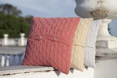 Элитная наволочка декоративная Imperio 22 коралловая от Luxberry