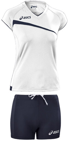 Форма волейбольная Asics Set Play Off White Жен