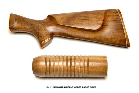 иж-81 приклад и цевье монте-карло орех
