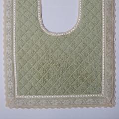 Элитный коврик для унитаза Buratto зеленый от Old Florence