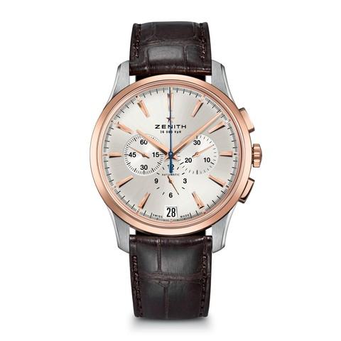 Купить Наручные золотые часы Zenith 51.2112.400/01.C498 Academy по доступной цене