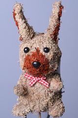 Стикер заяц из натурального мха BH13D 29-13