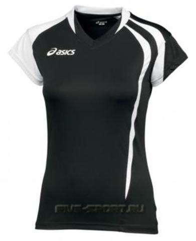 Футболка волейбольная Asics T-Shirt Fanny Lady  (T751Z1 9001) фото