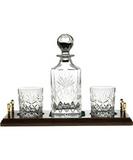 Royal Scot Crystal Набор для виски Kintyre (декантер, 2 бокала), хрусталь