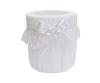 Ведро для мусора в ванную Rombetti белое от Old Florence