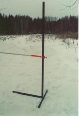 Планка для прыжков в высоту алюминиевая 4м