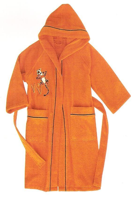Элитный халат детский махровый Happy Tigro от Caleffi