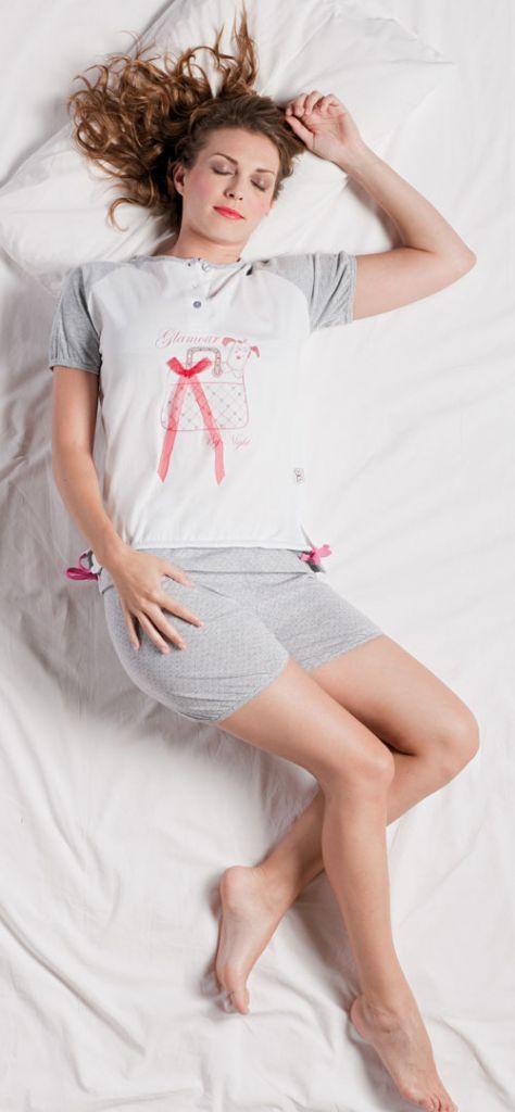 Легкая хлопковая пижама Stella Due Gi