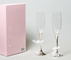 Набор бокалов свадебный 63094