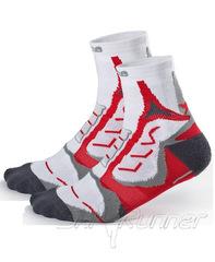 Беговые носки Noname Coolmax, 2 пары, красный