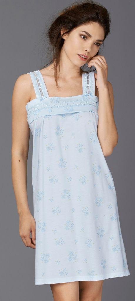 Ночная сорочка-сарафан Vilfram (Домашние платья и ночные сорочки)
