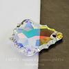 6091 Подвеска Сваровски Flat Baroque Crystal AB (28 мм) ()