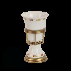 Стакан настольный Migliore Provance ML.PRO-60.502 керамика с декором