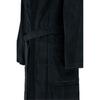 Элитный халат велюровый мужской 8725 коричневый от Cawo