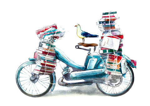 Постер Bike'n'Books