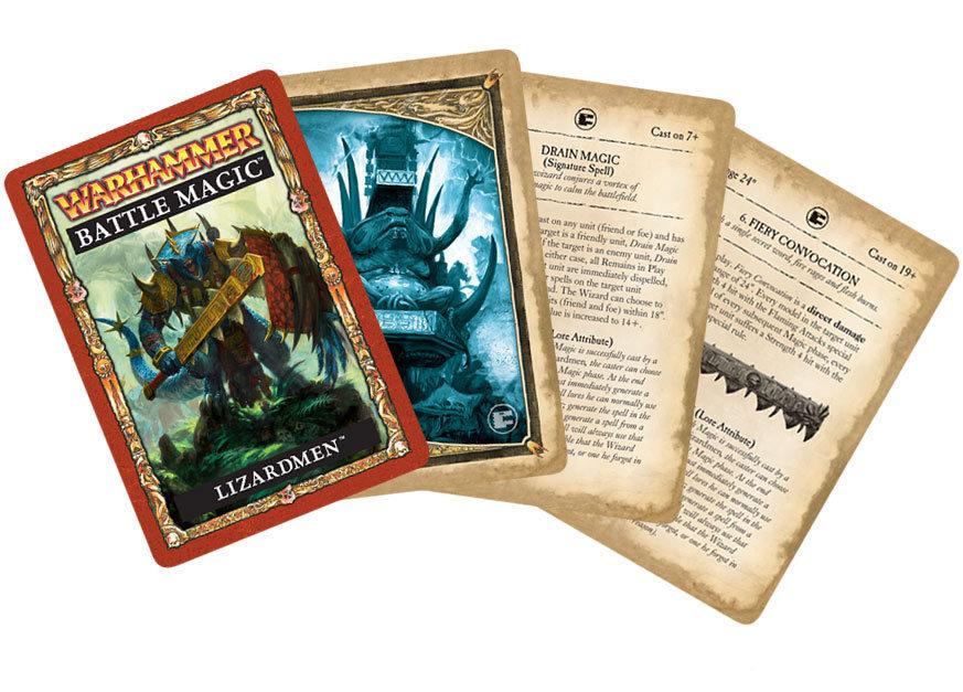 Warhammer Battle Magic: Lizardmen
