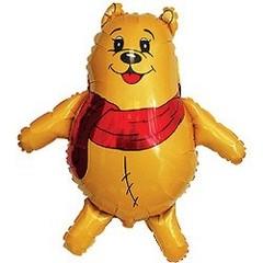 Медвежонок в шарфике 14