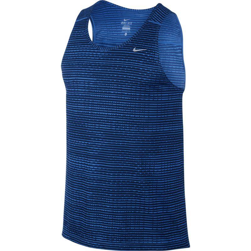 Мужская майка л/а Nike Printed Miler Singlet (619390 439)