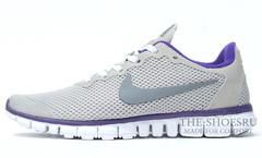 Кроссовки женские Nike Free Run 3.0 Grey 1