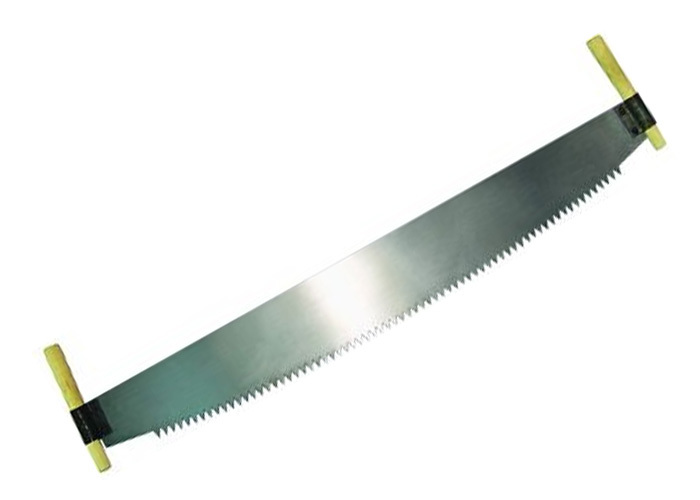 Пила двуручная, 1000 мм, деревянные рукоятки (Ижевск) 23435
