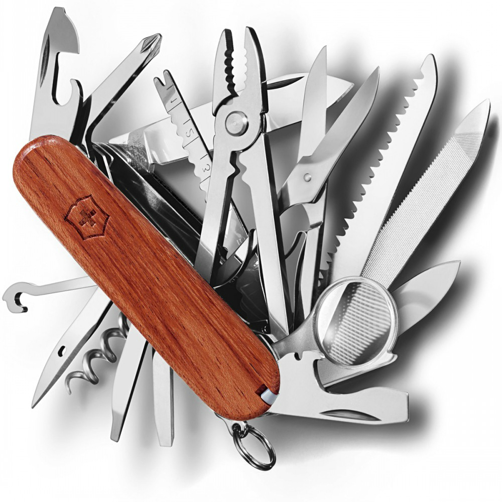 Швейцарский нож Victorinox SwissChamp лиственница (1.6794.69)