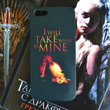 Чехол для iPhone 7+/7/6s+/6s/6+/6/5/5s/5с/4/4s  I WILL TAKE WHAT IS MINE