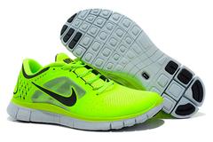 Кроссовки мужские Nike Free Run 5.0 Black Green