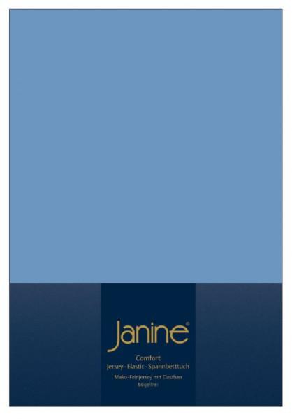 На резинке Простыня на резинке 70x90-140 Janine Elastic-Jersey 5002 джинсовая elitnaya-prostynya-natyazhnaya-na-rezinke-elastic-jersey-5002-blau-ot-janine-germaniya.jpg