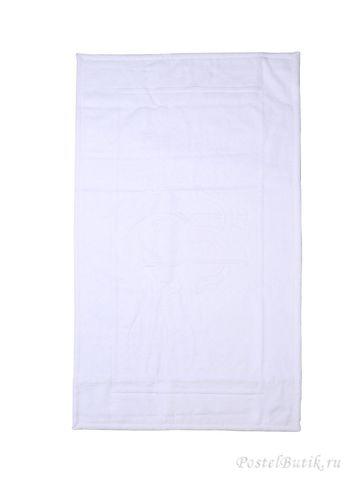 Элитный коврик для ванной Logo белый от Roberto Cavalli