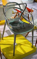 стул The Masters chair by Philippe Starck design ( kartell ) - серебро
