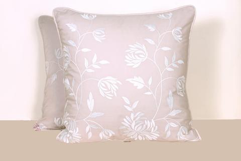 Наволочка декоративная 42х42 Bovi Hortensis розовая