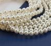 5810 Хрустальный жемчуг Сваровски Crystal White круглый 4 мм, 10 штук